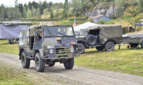 Samling: For femtende gang er det samling av militære kjøretøy av ulike slag på Høytorp fort i Mysen. Treffet finner sted kommende helg, 10.- 12. august.