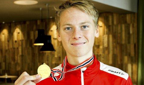 SLETTET REKORD: Fredrik Sandvik slo Askim IF-rekorden på 1.500 meter under Bislett Games. Den nye rekorden lyder på 3.49,20.
