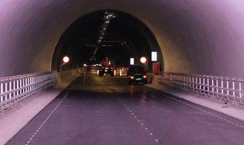 RYFYLKETUNNELEN:  Stavanger ønsker å endre Statens vegvesen sitt forslag til passeringstak i Ryfylketunnelen fra 45 til 75 passeringer. Arkivfoto