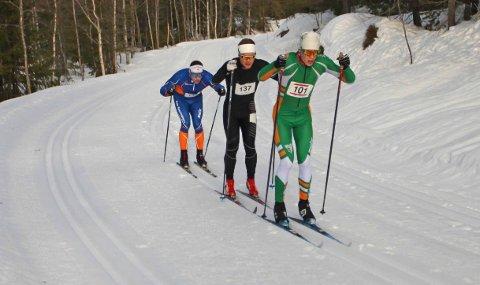 Unggutten Jørgen Bertram Dyrdahl, Berger IL var best av alle som gikk 27 km under Montebellorennet, og han gikk på meget sterke 1.12.06.