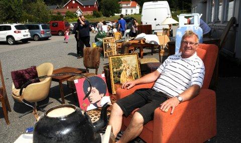 SKROT-TOR: - Da jeg skulle registrere firmaet i Brønnøysund, var navnet Skrotnisse opptatt, forklarer den travle bruktselgeren om bakgrunnen for navnet Skrot-Tor.