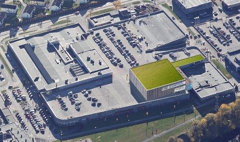 AVLYSER INVESTERING: Herkules hadde planer om å bygge en trampolinepark på 2200 kvadratmeter på taket til kjøpesentret.