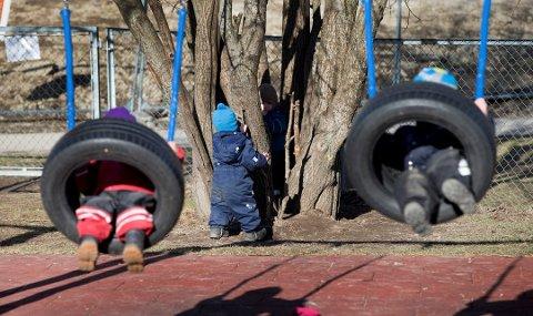 Streikefaren i offentlig barnehager har økt etter at en konflikt om barnehagelærernes arbeidstid har blitt tatt inn i kommuneoppgjøret. Foto: Gorm Kallestad, NTB scanpix/ANB