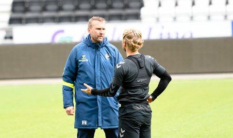 VIL VÆRE MED I TOPPEN: Jan-Frode Nornes, Sander Svendsen og de andre i Odd. Foto: Kristian Holtan