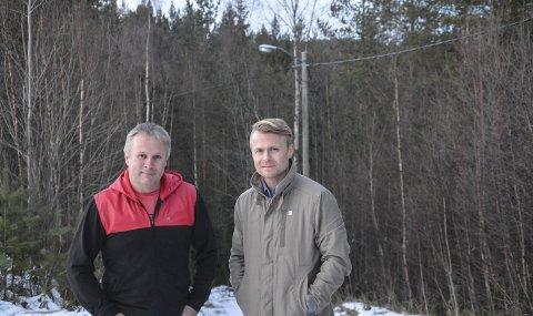 Allmøte: Lederskapet i Høgås Vel, her representert ved nestleder Frode Paulsen og leder Ola Wårås inviterer til allmøte for å få fortgang i prosessen med rehabilitering av lysløypa – slik at den kan benyttes vinter, vår, sommer og høst.