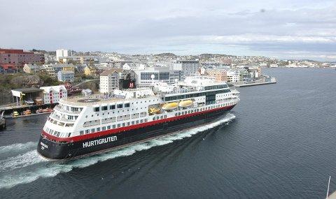 Kristiansund havn får tilskudd fra ny ordning.
