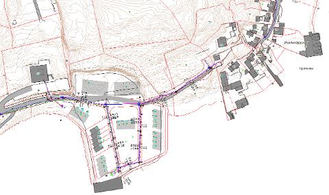 Vanet vil bli borte når kommunen starter arbeid på vannledningen i Sørsundveien på Innlandet.