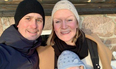 PÅ FLYTTEFOT: Katharina Fjeld og samboeren Jonas Jonson gleder seg til å flytte fra en knøttliten leilighet i Oslo til romslig hus med lys, luft og egen hage på Nøtterøy.