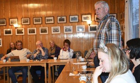 Engasjert: Lars Simonstad (KrF) var bekymret både for miljøet som sådan og for naboskapet blant hyteeierne.
