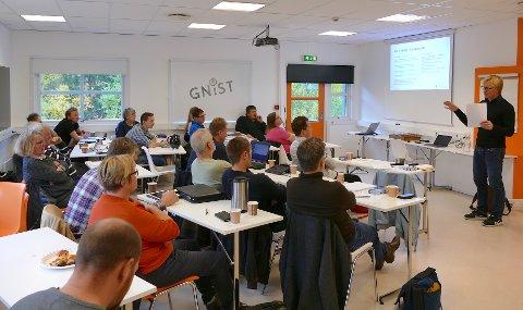 """Prosjektet """"Bærekraftig hytteutvikling i Valdres"""" inviterte ordførere, hytteeiere, politikere og utviklere til gratis workshop tirsdag 9. oktober."""