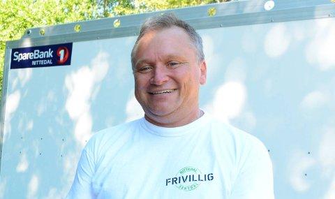 NYSENTRAL:HappyTom Christiansen titulerer seg nå som styreleder i Nitelva Frivilligsentral.