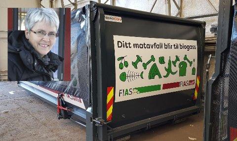 MATAVFALL: Etter en måneds drift har FIAS mottatt 67,2 tonn matavfall, informerer kommunikasjonssjef Hanne Maageng Olsen.