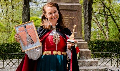 FIKK PRIS: Harriet Kjus Müller-Tyl er tildelt Falsenstatuetten 2020