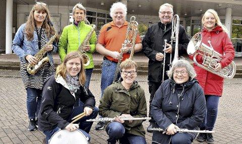 Konsert: Mandag kveld spiller Sunndal Musikkforening konsert på Holsskeidet.