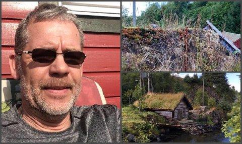 – Hærverk er blitt ein trend, meiner Bengt Gran frå Manger som har fått øydelagt delar av naustet sitt fleire gongar.