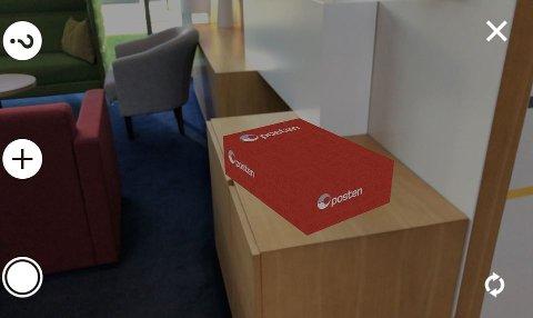 Med postens nye teknologi kan man se pakken sin før man fysisk får den.