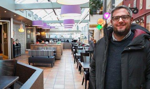 Senterleder Morten Koch håper på ny driver i lokalene hvor Mon Ami har holdt til i Glasshuset etter nyrttår.