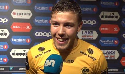 Fredrik André Bjørkan ser ut til å ha bestemt seg for å forlate Glimt etter årets sesong.