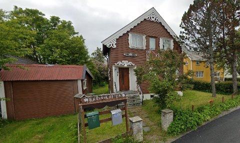 Huset i Vestbyen ble donert bort.