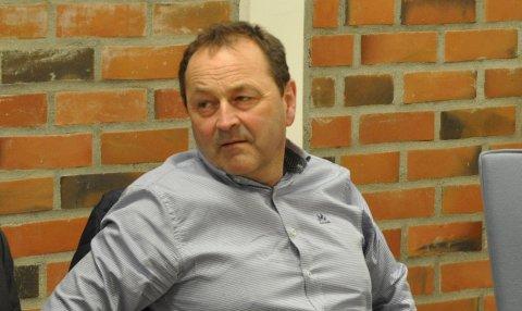 Ordfører Frank Johnsen.