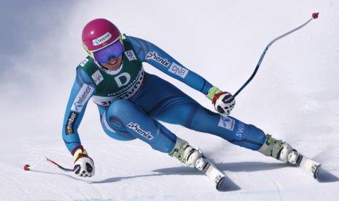 Maria Tviberg, her fra VM i St. Moritz, tok tre NM-gull i helgen. (Arkivfoto: NTB scanpix)