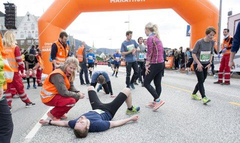 Bergen City Marathon ønsker å være et løp for «folk flest». (Arkivfoto: Skjalg Ekeland)