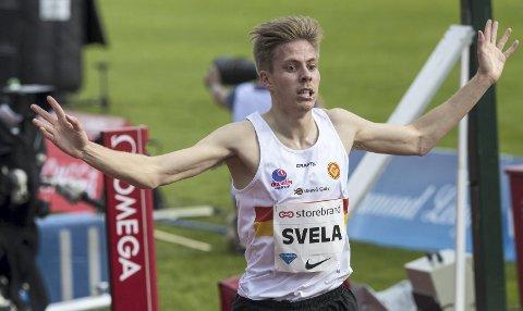 Per Svela løp under kravet  i Leikvanghallen i går, men ligger an til å miste nok et EM – på grunn av tre altfor gode brødre fra Sandnes.