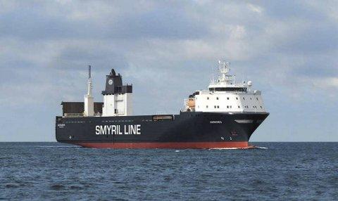 Færøyske Smyril Line har ikke vært å se i Bergen Havn siden 2008. Nå starter rederiet opp med godstrafikk hit for første gang på 13 år. Godsskipet MV Akranes skal trafikkere ruten mellom Rotterdam, Bergen og Trøndelag.
