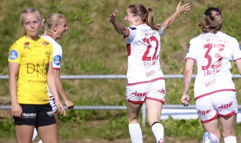 Ingrid Ryland og Sandviken går for tre poeng mot RBK.