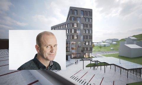 Toralf Nyheim (innfelt) vil opprette et eget Altidata-kontor i Egersund forum.