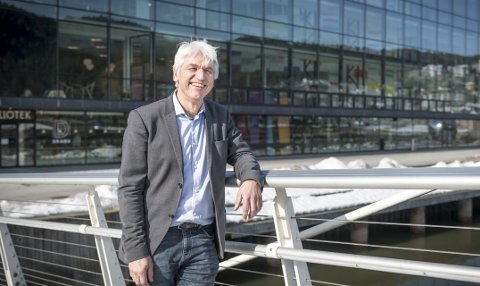 Flott by:  – Drammen har et allsidig tilbud av fritidsaktiviteter og er snart universitetsby, sier Hein Lindquist.