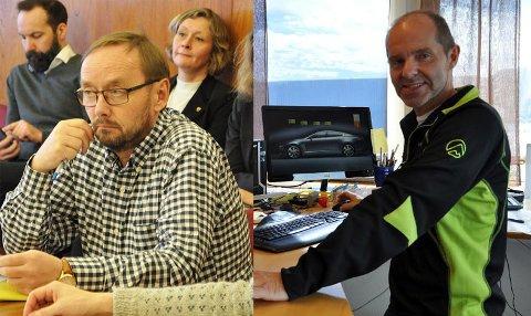 Lars Helge Jensen er uenig med Bjørn Ronald Olsen i hvem utsagnet var myntet på.