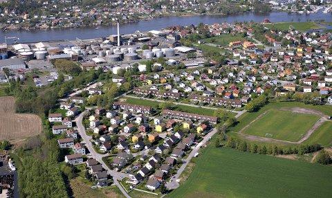 Unikt bygningsmiljø: Kongsten haveby, området mellom Kongstenhallen og industriområdet på Øra, ble reist i etterkrigsårene og er bevaringsverdig. Særpreget skal beholdes. Arkivfoto: Erik Hagen
