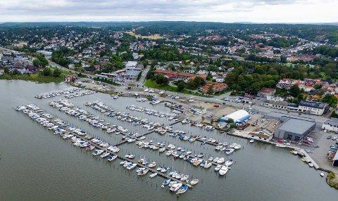 Havneplass: Fredrikstad Motorbåtforening har mye ledig i sin havn på Fjeldberg.