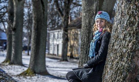 Hjemme: Talina H. Skogseth bodde sju år i Gamlebyen. Siden har hun bodd på Gudevold og Trara, i Los Angeles, London og Oslo. Men hun drar ofte tilbake til Gamlebyen.foto: Geir A. Carlsson