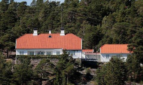 FERIESTED: Prinsessen arvet Bloksbjerg, som har en tomt på tolv mål, i 2001. Foto: Lise Åserud / NTB scanpix