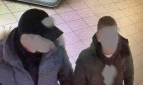 Dette bildet tatt på en Spar-butikk i Målselv fikk en aansatt ved Amfi Narvik til å ringe politiet.