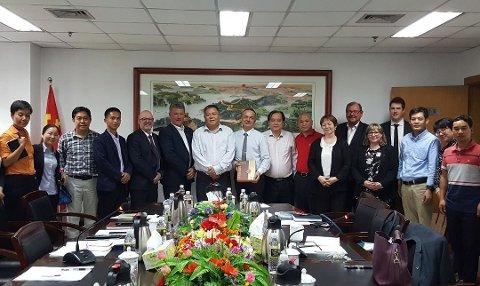 Delegasjonen fra Troms ble høytidelig tatt i mot i Kina. Foto: Troms fylkeskommune