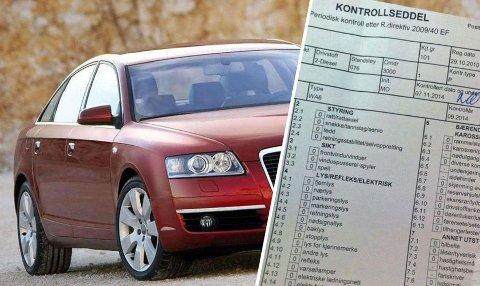EU-KONTROLL: En fersk EU-kontroll er viktig når du kjøper bruktbil, aller helst bør den ha ha NAF-test eller tilstandsrapport fra et verksted.
