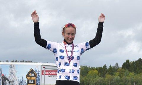 LADIES TOUR OF NORWAY: Horten kan få ta del i damerittet Ladies Tour of Norway. På bildet er Hortens kvinnlige proffsyklist Ingvild Gåskjenn.