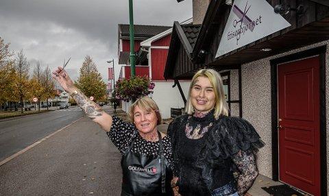 TROR PÅ DETTE: Lise og Connie Lindberg tror at flyttingen lengst ned i gata også kan slå positivt ut.