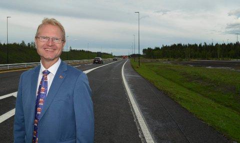 VIL KJEMPE: Stortingsrepresentant Tor André Johnsen (Frp) er skuffet over regjeringens NTP-forslag på vegne av Kongsvinger-regionen. - Dette er dårlige nyheter, men vi skal jobbe hardt framover, lover han.