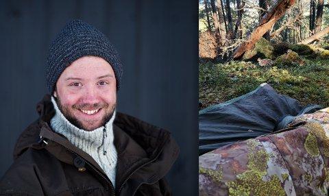 Even Agerup har funnet en smal nisje for å lokke tilreisende fotografer til Dovre.