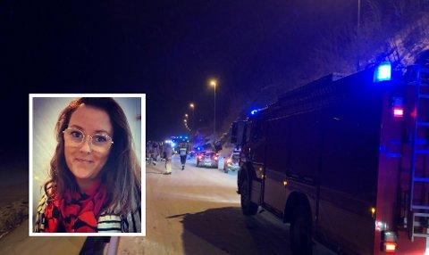 Sonja Tho fikk 15 brudd i ulykken i januar. Nå er hun hjemme igjen.