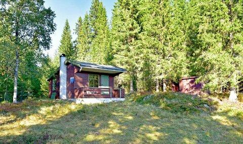 SOLGT: Denne hytta i Snålvegen ble solgt tirsdag etter budrunde.