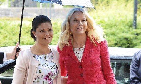 ROJALT BESØK: Sveriges kronprinsesse Victoria og Norges kronprinsesse Mette-Marit kommer til Enningdalen.