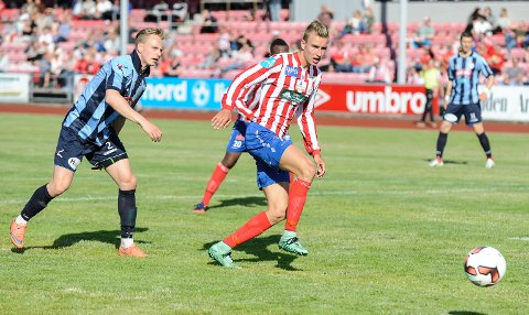Martin Hoel Andersen har skrevet under for 1. divisjonsklubben Jerv fra Grimstad.