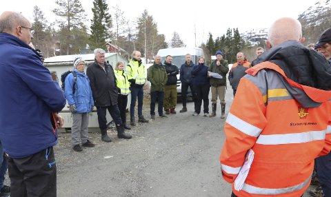 Ny E 1 34: Her ved Solfonn/Løyning skal det komme et nytt kryss. Før sommeren må politikerne ta stilling til om de skal velge alternativ 1 eller alternativ 2 og skal samtidig vedta totalt tre reguleringsplaner.