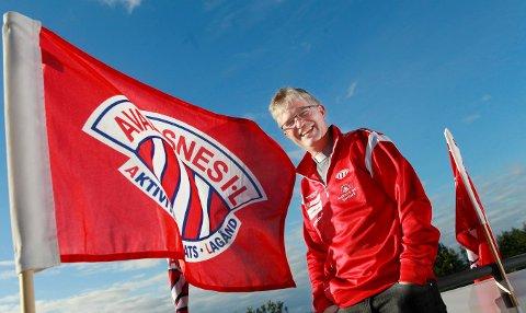 GJENVALGT: Helge Gaard ble gjenvalgt som leder i Avaldsnes IL for ellevte år på rad.