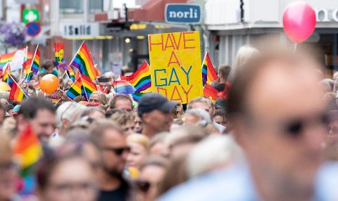 Fra Haugaland Pride i august.